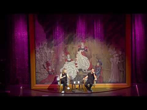 Andrea Barber  with Joey McIntyre HD  NKOTB Cruise 2017  Joe Time