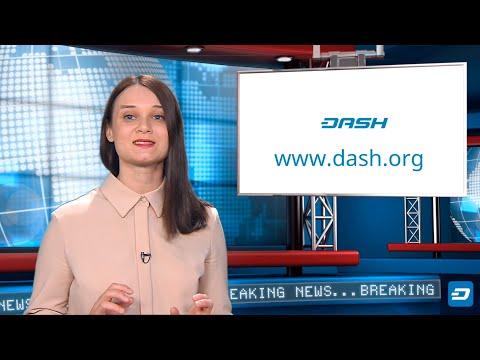 «Что такое Dash?» в стиле новостей