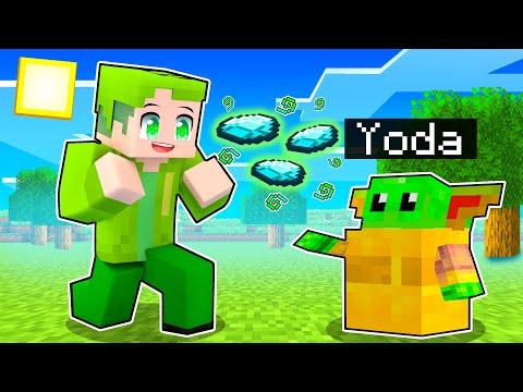MI FINGO BABY YODA PER AIUTARE I TUOI AMICI Su Minecraft!