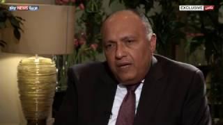 سامح شكري: العلاقات المصرية السعودية راسخة