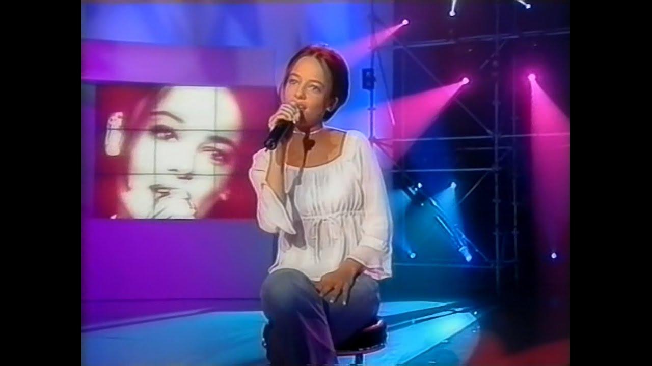 31/03/2001 - Alizée sur le Plateau de Tapis Rouge