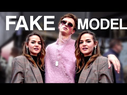 We Faked A Model To The Top Of Fashion Week