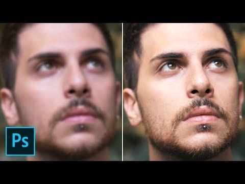 Photoshop tutorial italiano - Correggere foto sfocate photoshop, novità photoshop cc2015.5 cc 2015 from YouTube · Duration:  5 minutes 37 seconds