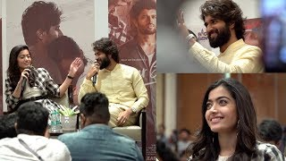 Vijay Devarakonda and Rashmika in Kochi | Dear Comrade Press Meet | E4 Entertainment