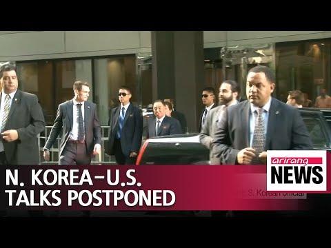 N. Korea-U.S. talks set for Thursday postponed