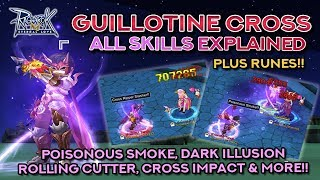GUILLOTINE CROSS SKILLS DEMO + EXPLANATION | Ragnarok Mobile Eternal Love