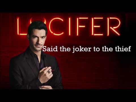 Lucifer Soundtrack S02E01 All Along The WatchTower (Feat. Tom Ellis) [ Lyrics Video ]