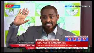 presidential aspirant abduba dida addresses iebc over signatures