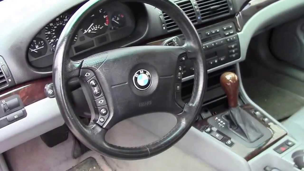 2001 BMW 325xi Engine Start Problem