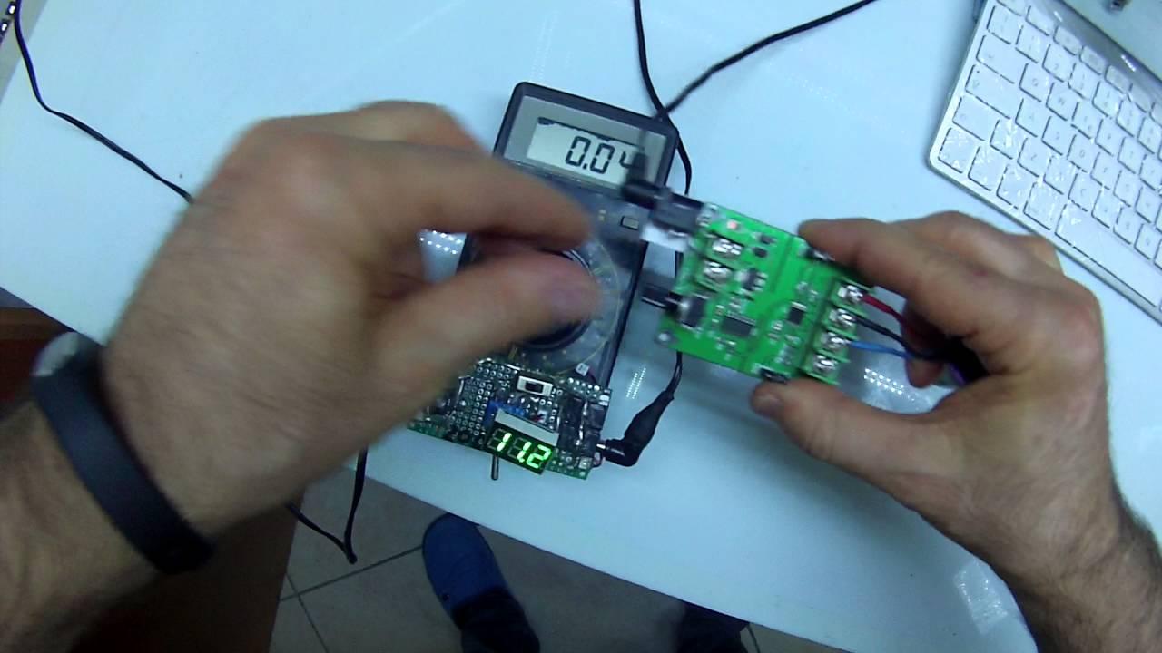 5V 12V DC Brushless Motor Driver Board Controller For Hard Drive ...