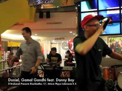 Doniel, Gamal Gandhi feat. Danny boy - Performing Live at BlockBattles 17 - Cewek Simpanan