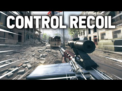 Battlefield 5: TIPS ON CONTROLLING RECOIL (Best AIMBOT Settings in BFV) Multiplayer Gameplay