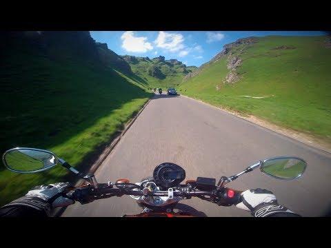 Yamaha FZ6 Bank Holiday Ride | Peak District National Park