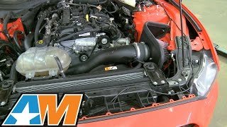 2015 2017 mustang k series 63 aircharger high performance intake ecoboost review install