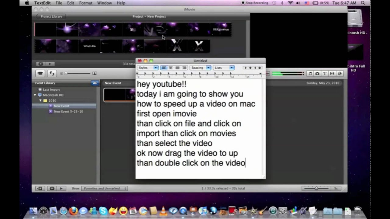 speed up video conversion mac
