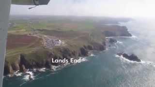 Lands End Airport G-SBUS Coastal Flight, Penzance