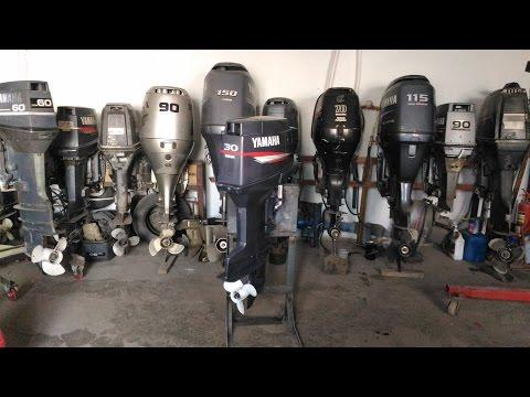 Лодочный мотор Yamaha 50 for Ямаха 50 4т 2005 г  от компании АквацентрДВ лодочные моторы из Японии