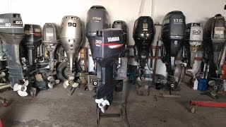 Човновий мотор Yamaha 50 for Ямаха 50 4т 2005 р від компанії АквацентрДВ човнові мотори з Японії