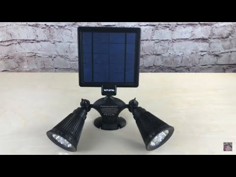 Vandeng Solar-Powered Motion Sensor Lights: Keep The Outside Lit | Home Safety from