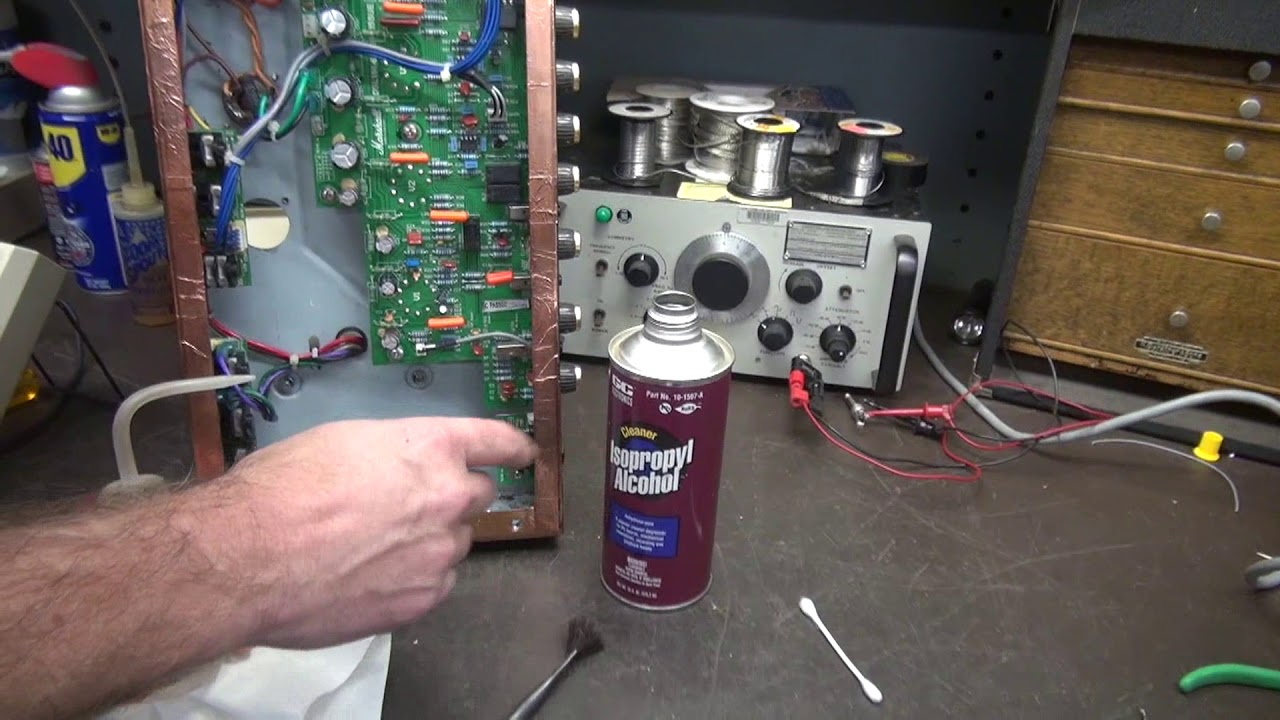 how to repair marshall dsl40c tube guitar amp d lab electronics [ 1280 x 720 Pixel ]