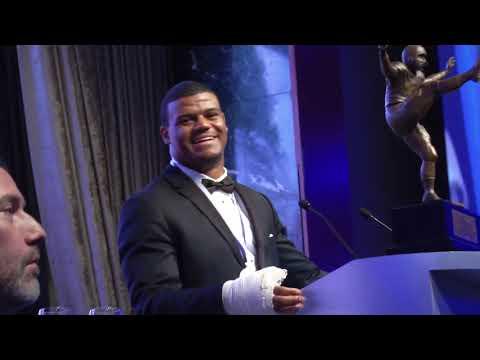 Micah Kiser's 2017 Campbell Trophy Acceptance Speech
