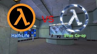 Half-Life  vs  Sven Co-op