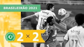 Шапекоэнсе  2-2  Атлетико Минейро видео