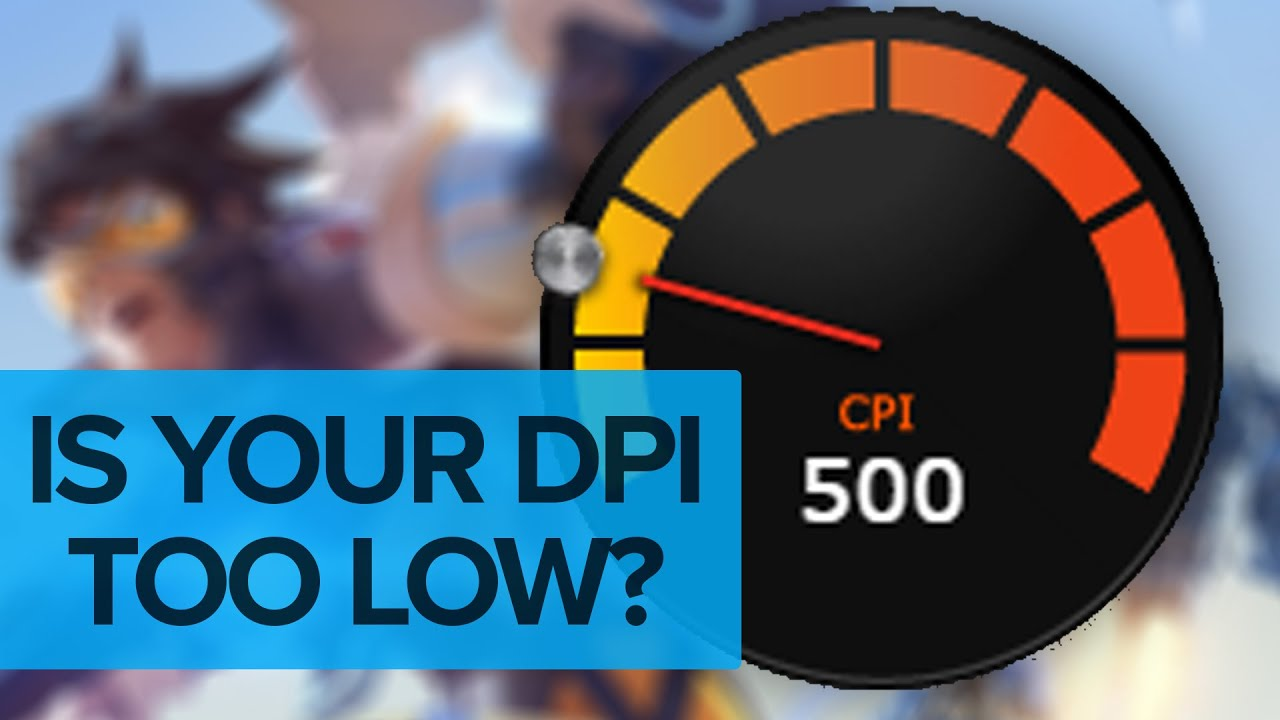 Is Your DPI Too Low? Pixel Skipping in Overwatch
