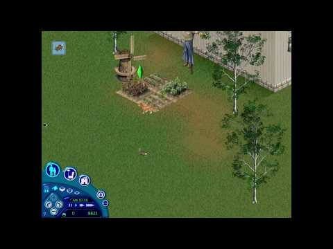 The Sims 1 - Cat Hunting Bunny