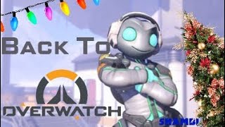 Back to Overwatch - Christmas Lucio edition