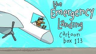 The Emergency Landing | Cartoon Box 113 | by FRAME ORDER