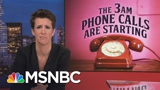 Donald Trump Yet To Name Directors At Major Agencies | Rachel Maddow | MSNBC