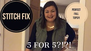 STITCH FIX - October 2018 - Is this a 5 for 5?!?!!?!