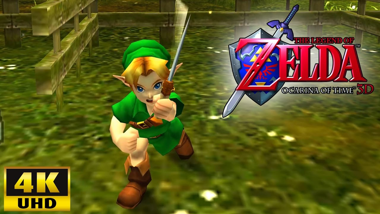 nintendo 3ds zelda ocarina of time rom download