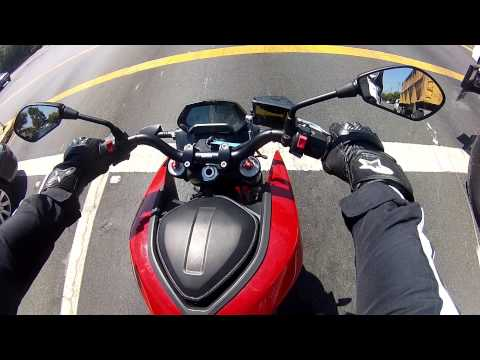HadesOmega Rides the Zero SR ZF12.5 Electric Motorcycle
