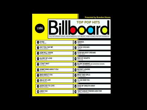 Billboard Top Pop Hits - 1986