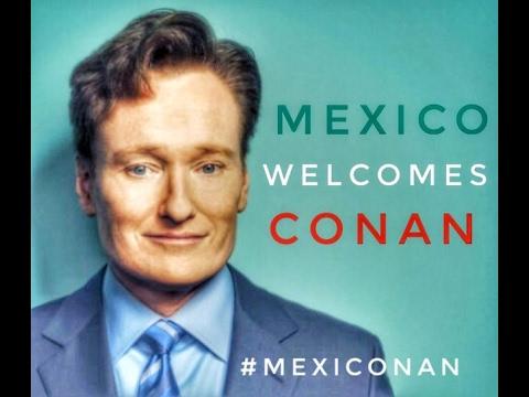 ¡Bienvenido Conan O'brien!