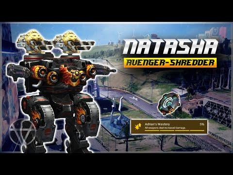 [WR] 🔥 Mk2 Avenger Shredder Natasha - Gameplay | War Robots