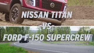 Nissan Titan vs Ford F-150 4x4 SuperCrew - AutoNation