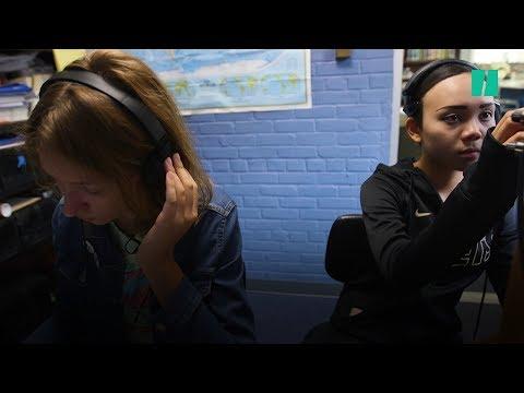 Teen Radio Operators Relay Heartfelt Messages To Puerto Rico