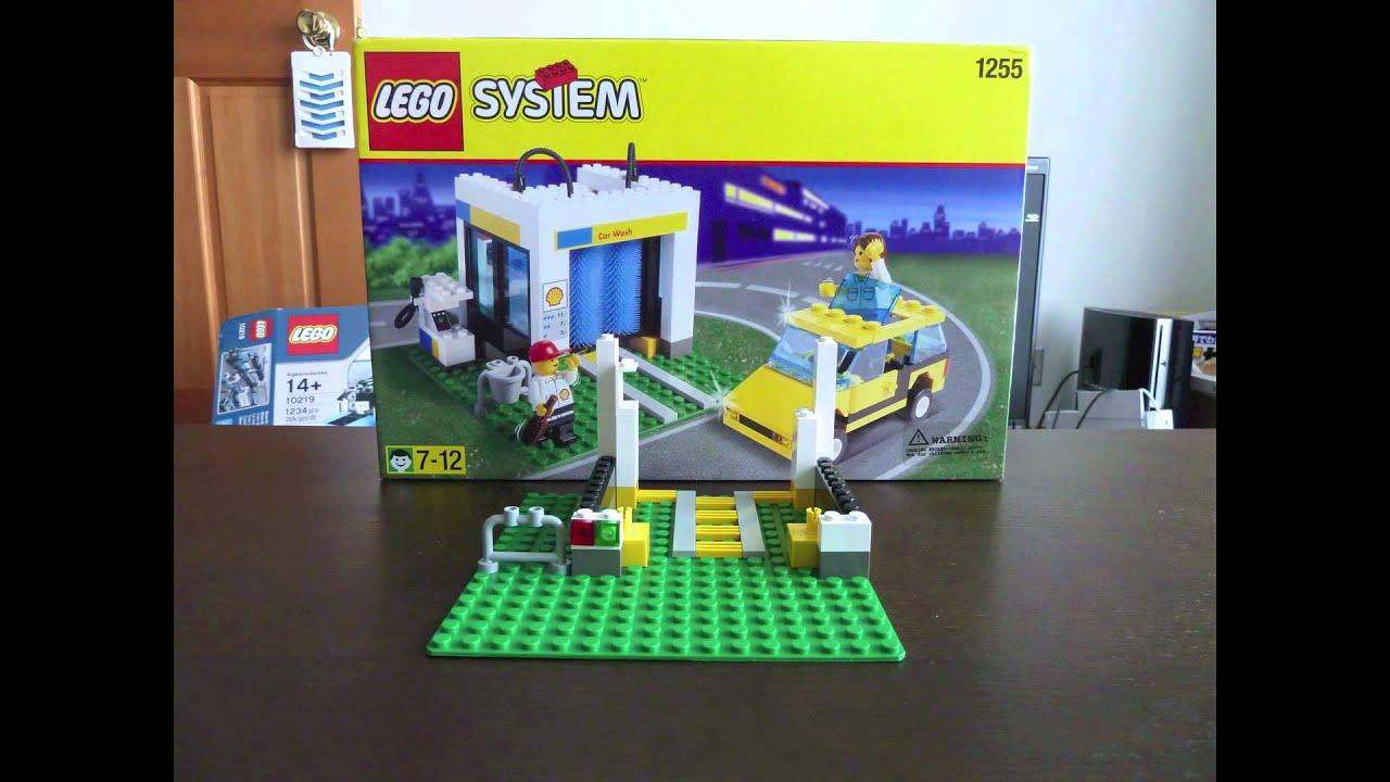 Find A Carwash >> LEGO 1255 Shell Car Wash - YouTube