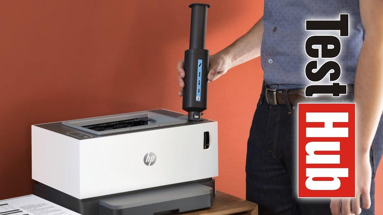 HP Neverstop Laser 1000w — мини обзор принтера, разбираем блок фотобарабана