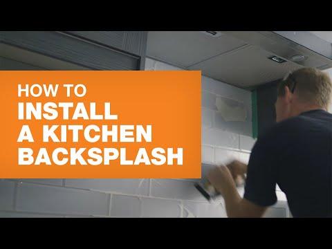Backsplash Installation: How To Install A Kitchen Backsplash Like A Pro