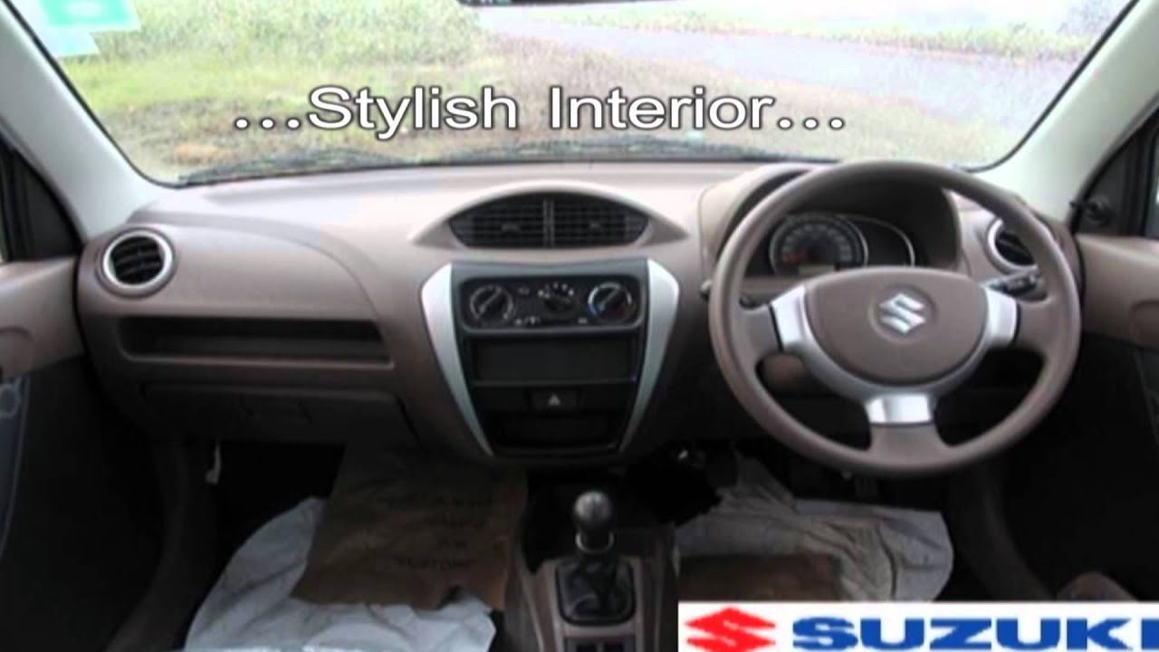 New maruti suzuki alto 800 review interior exterior for Interior decoration of maruti 800