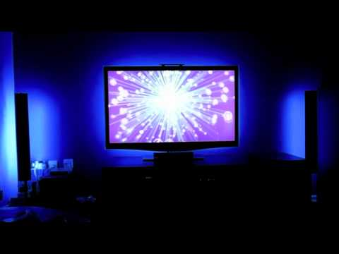 5050 led smd behind tv mood light backlight youtube