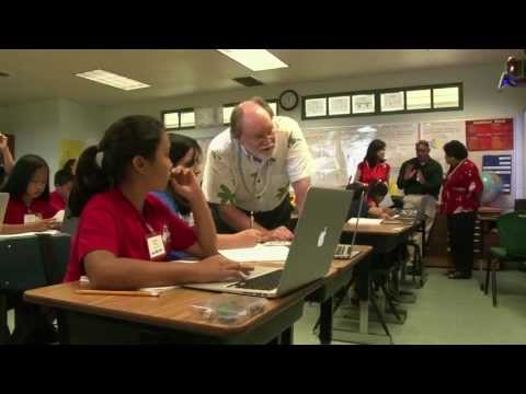 A gift of technology marks Digital Learning Day at Keaau Elementary School