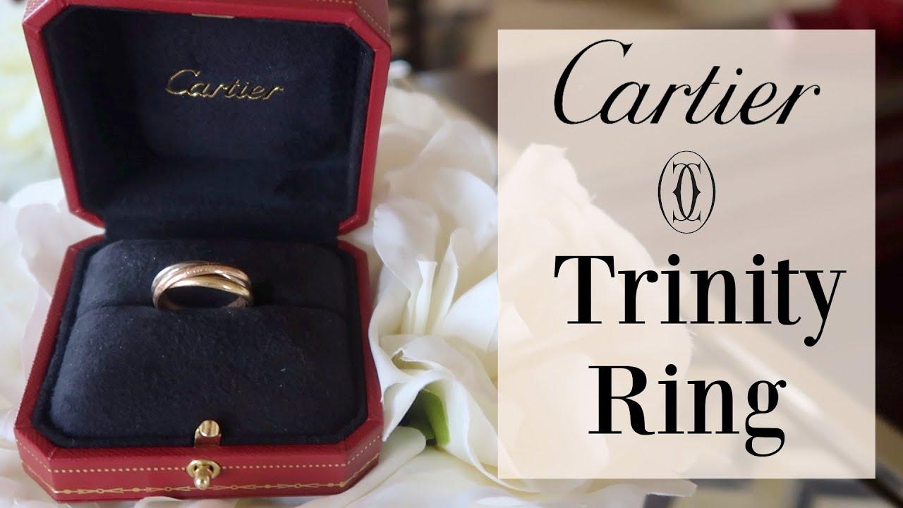 Cartier Trinity Ring Youtube