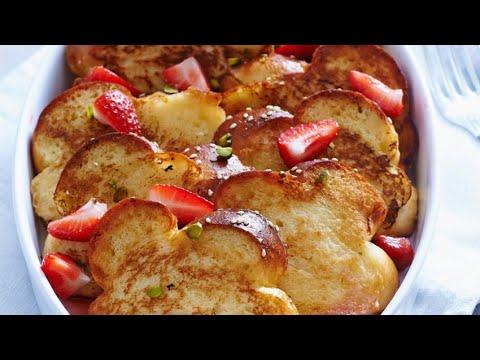 recette-:-brioche-perdue-aux-fraises