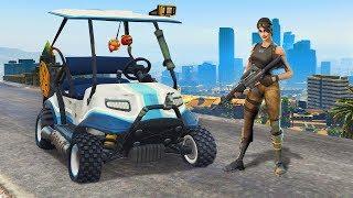 FORTNITE Battle Royale In GTA 5! - GTA 5 Mods