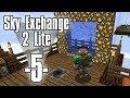 Dansk Minecraft - Sky Exchange 2 Lite #5 - Creeper farm og nye dimensioner (HD)
